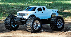 Ford F-150 SVT Raptor Redcat Volcano S30 4X4 1/10th 40+MPH Nitro RC Monster Truck Ready To Run Custom Painted With 2.4Ghz Radio System