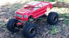 Ford F-250 2011 Super Duty Redcat Everest 10 4X4 1/10th Electric RC Rock Crawler Ready To Run Custom Painted With 2.4Ghz Radio And Waterproof Electronics