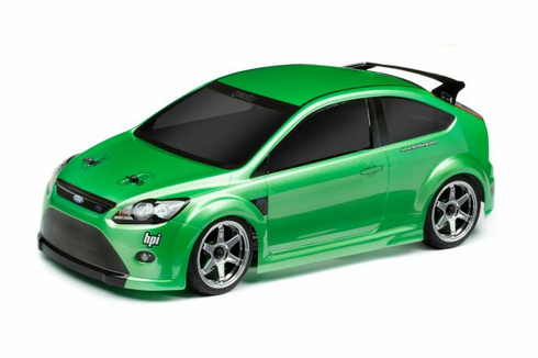 Ford Focus RS Redcat Racing EP Brushless RTR Custom Painted Electric RC Street Cars Now With 2.4 GHZ Radio AND 2S Lipo Battery!!!