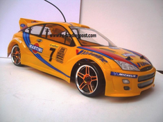 Ford Focus WRC Redcat Racing EPX RTR Custom Painted Electric RC Drift Cars Now With 2.4Ghz Radio!!!