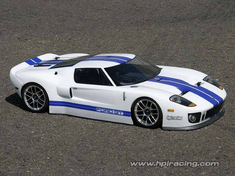 Ford GT Redcat Racing EP Brushless RTR Custom Painted Electric RC Street Cars Now With 2.4 GHZ Radio AND 2S Lipo Battery!!!