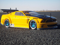 Ford Mustang GT-R Redcat Racing EP Brushless RTR Custom Painted Electric RC Street Cars Now With 2.4 GHZ Radio AND 2S Lipo Battery!!!
