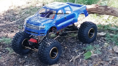 Ford Raptor SVT Super Crew Cab Redcat Everest 10 4X4 1/10th Electric RC Rock Crawler Ready To Run Custom Painted With 2.4Ghz Radio And Waterproof Electronics