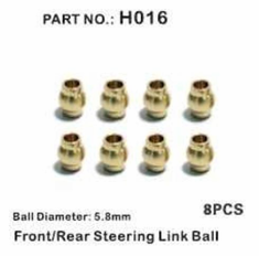 Steering Link Ball, F/R ~