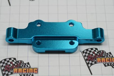 Aluminum front upper arm mount (blue)(Same as 188831)