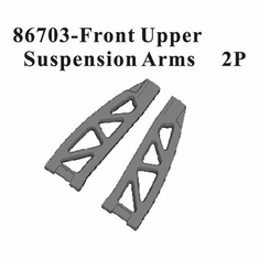 Front Upper Suspension Arms, 2pcs ~