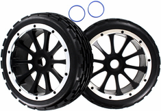 Front Wheels and Tires 2pcs
