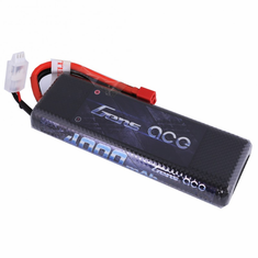 Gens ace 4000mAh 7.4V 45C 2S1P Hard Case Lipo Battery Pack 8# with Deans plug