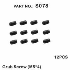 Grub Screw M5*4mm ~