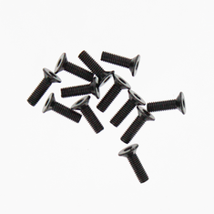 HM3*10mm Flat Hex Screw   12PCS ~