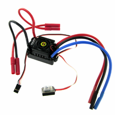 Hobbywing Brushless ESC (80A) with Banana connectors, Splashproof ~