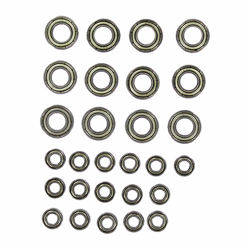 Hub/wheel bearing set qty 28 bearings are included ~