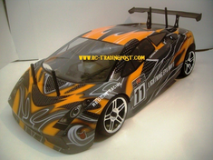 Lambo Redcat Racing Gas RTR Nitro RC Cars Now With 2.4 GHZ Radio System!!!