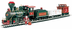 Large G Gauge Night Before Christmas Model Train Set Ready To Run 5�4� x 4�3� oval