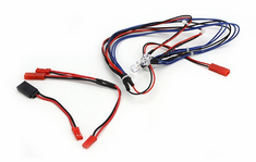 LED Light System, Blue: 1/10 Touring Car by Integy (INTC23148BL)