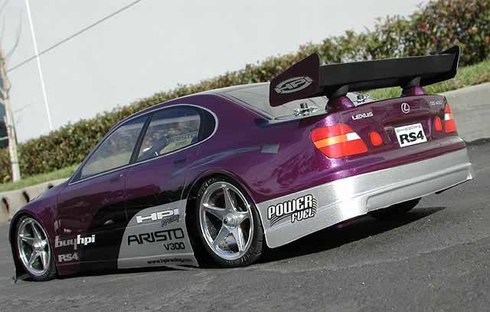 Lexus GS 400 Redcat Racing EP Brushless RTR Custom Painted Electric RC Drift Cars Now With 2.4 GHZ Radio AND 2S Lipo Battery!!!