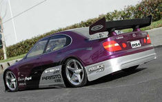 Lexus GS 400 Redcat Racing Gas RTR Custom Painted Nitro RC Cars Now With 2.4 GHZ Radio System!!!