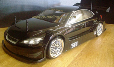 LEXUS IS F RACING CONCEPT Redcat Racing Gas RTR Custom Painted Nitro RC Cars Now With 2.4 GHZ Radio System!!!