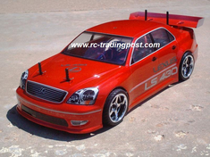 Lexus LS 430 Redcat Racing Gas RTR Custom Painted Nitro RC Cars Now With 2.4 GHZ Radio System!!!