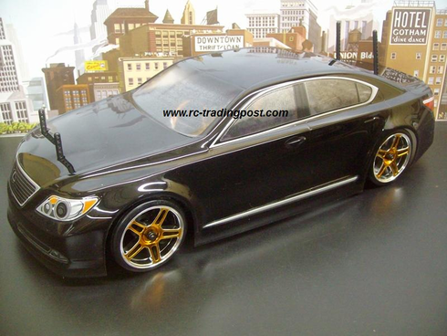 Lexus LS460 Sessions Ver. Redcat Racing EPX RTR Custom Painted Electric RC Drift Cars Now With 2.4Ghz Radio!!!