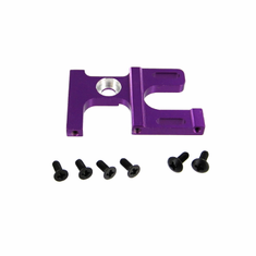 Lightweight Aluminum Motor Mount, Purple ~