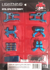 Lightning Pro/Drift/STK Aluminum hop up kit (New version) (Blue)