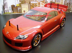 Mazda RX-8 Redcat Racing EPX RTR Custom Painted Electric RC Drift Cars Now With 2.4Ghz Radio!!!