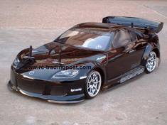 Mazda RX-8 Redcat Racing Gas RTR Custom Painted Nitro RC Cars Now With 2.4 GHZ Radio System!!!