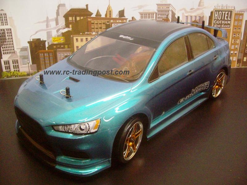 MITSUBISHI LANCER EVOLUTION X Redcat Racing EPX RTR Custom Painted Electric RC Drift Cars Now With 2.4Ghz Radio!!!