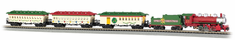 "N Gauge Spirit of Christmas Model Train Set Ready To Run 34"" x 24"" oval"