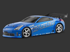 Nissan 350Z G Reddy Turbo Custom Painted RC Touring Car / RC Drift Car Body 200mm (Painted Body Only)