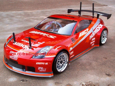 NISSAN 350Z HANKOOK Redcat Racing Gas RTR Custom Painted Nitro RC Cars Now With 2.4 GHZ Radio System!!!