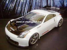 Nissan 350Z Nismo GT Redcat Racing EP Brushless RTR Custom Painted Electric RC Street Cars Now With 2.4 GHZ Radio AND 2S Lipo Battery!!!