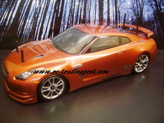 Nissan GT-R R35 Custom Painted RC Touring Car / RC Drift Car Body 200mm (Painted Body Only)