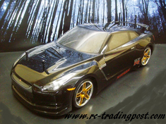 Nissan GT-R R35 Redcat Racing EPX RTR Custom Painted Electric RC Drift Cars Now With 2.4Ghz Radio!!!