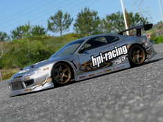 Nissan Silvia Custom Painted RC Touring Car / RC Drift Car Body 200mm (Painted Body Only)