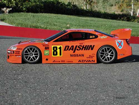 Nissan Silvia GT Custom Painted RC Touring Car / RC Drift Car Body 200mm (Painted Body Only)