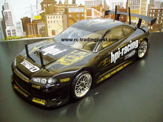 Nissan Silvia Redcat Racing Gas RTR Custom Painted Nitro RC Cars Now With 2.4 GHZ Radio System!!!