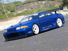Nissan Skyline GT-R Custom Painted RC Touring Car / RC Drift Car Body 200mm (Painted Body Only)