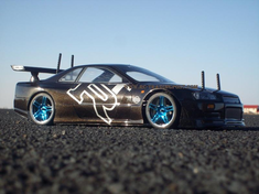 Nissan Skyline R34 GT-R Redcat Racing EP Brushless RTR Custom Painted Electric RC Street Cars Now With 2.4 GHZ Radio AND 2S Lipo Battery!!!