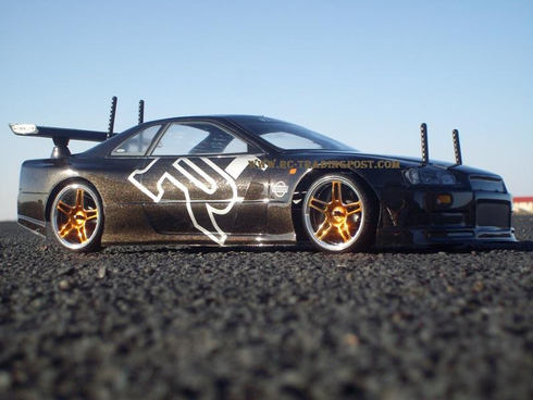 Nissan Skyline R34 GT-R Redcat Racing EPX RTR Custom Painted Electric RC Drift Cars Now With 2.4Ghz Radio!!!