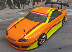 Orange Yellow Redcat Racing Gas RTR Nitro RC Cars Now With 2.4 GHZ Radio System!!!