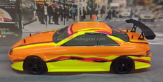 Orange Yellow Redcat Racing Thunder Drift Belt Drive RTR Electric RC Drift Cars Now With 2.4Ghz Radio!!!
