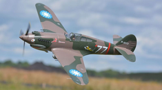P-40B, Plug N Play, 1400mm Brushless RC Airplane