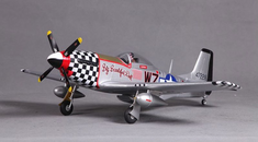 P-51D BBD 800 mm Plug N Play, V2 Brushless RC Airplane