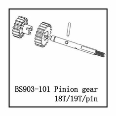 2 Speed Pinion Gear-18T/19T ~