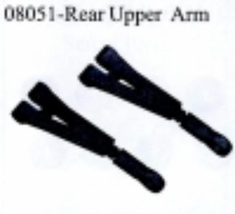 Plastic Rear Upper Arm 2ps ~