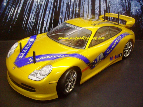 Porsche 911 Custom Painted RC Touring Car / RC Drift Car Body 200mm (Painted Body Only)