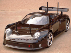 Porsche 911 GT1 Le Mans Redcat Racing Gas RTR Custom Painted Nitro RC Cars Now With 2.4 GHZ Radio System!!!
