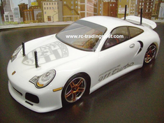 Porsche 911 Turbo Redcat Racing EPX RTR Custom Painted Electric RC Drift Cars Now With 2.4Ghz Radio!!!